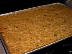 You might recall that I helped my SIL with some catering a couple of weeks ago. One of the things she made for the concession she and her c. Cookbook Recipes, Baking Recipes, Snack Recipes, Baking Ideas, Vegan Recipes, Best Granola Bars, Cafe Food, Fall Recipes, Breakfast Recipes