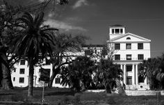 white house hotel mono this is a derelict hotel from the 20's, located right on the beach in biloxi, ms. it was one of the few survivors of...