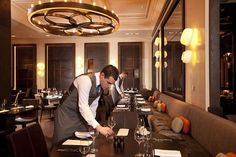 Dinner by Heston Blumenthal. Mandarin Oriental Hyde Park came in at number 25 on the list