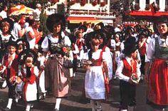 The Liechtenstein national costume