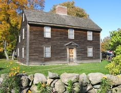 Birthplace of President John Adams in Braintree, Mass.  It is the oldest, original still-standing Presidential birthplace.