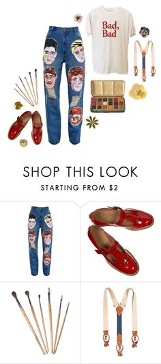 """""""BADBAD"""" by thinvein ❤ liked on Polyvore featuring Ashish, Tommy Hilfiger, vintage, casualoutfit and retro"""