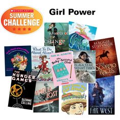 Celebrate Girl Power with these awesome books! Read and log your minutes at Scholastic.com/summer #Read11Books