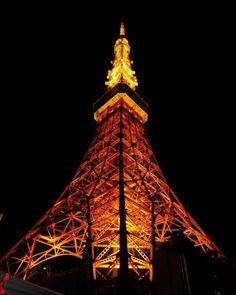 I'm in love with this place by night or by day it's lovely #tokyo #tokyotower #japan (by earendilnenya)