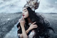 Watch Bella Kotak Edit a Winter-Themed Fantasy Image | Popular Photography