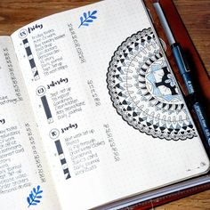 My daily plans in my bullet journal, along with some mandala fun Helen, Journal with Purpose (@journalwithpurpose) • Instagram photos and videos