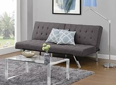 Futon Sofa Bed Splitback Furniture Living Room Dorm