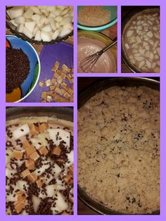 Lekker en leuk!: Chocolade peer kruimel cheesecake