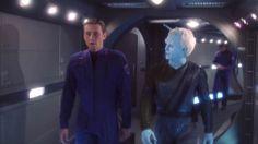 "Enterprise - ""Proving Ground"" season 3 Episode 13. Trip & Shran"