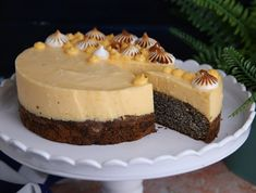 Cheesecake, Poppy, Foods, Food Food, Food Items, Cheesecakes, Cherry Cheesecake Shooters, Poppies