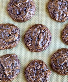 Brownie Cookie Recipe - I Heart Eating