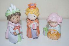 Avon Nativité bénédiction céleste trois sages mages 1986 Fgurines