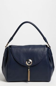 Versace 'Medium' Leather Flap Satchel | Nordstrom