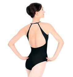 Adult Mock Halter Leotard - Style No Discount Dance Supply, Ballet Clothes, Ballet Beautiful, Dance Fashion, Dance Leotards, Just Dance, Athletic Wear, Dance Outfits, Wearing Black