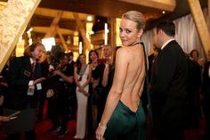 Pin for Later: Die besten Fotos der Oscars sind entstanden, wenn die Stars mal nicht gezwungen posieren Rachel McAdams