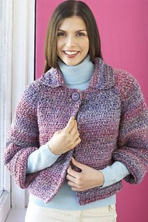 Crocheted Jacket -- Free Pattern