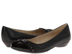 Womens Shoes Naturalizer Helina Black Smooth/Shiny