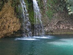 Crystal Clear Water Falls, Bolinao Pangasinan Philippines