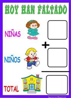 RECURSOS DE EDUCACION INFANTIL: ¿QUIÉN NO HA VENIDO AL COLE? ( 2)