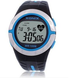 XONIX Heart Rate Monitor Unisex Sport Watches Waterproof 100m Men And Women Digital Watch Running Diving Hand Clock Montre Homme //Price: $46.98 & FREE Shipping //     #hairextension #style #beauty #woman #love