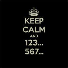 #keep #calm #and #123...567... #dancer #dance #bailar #baile #bailarin #bailarina #salsa #cubana #cuba #salsera #salsero
