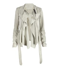 Leather jacket from All Saints