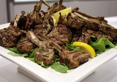 A Basic Cook - Lamb Rack Cutlets (or Chops) with Herbs Marinated Lamb, Rack Of Lamb, Lamb Recipes, Herbs, Beef, Cooking, Food, Meat, Kitchen
