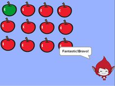 Create Fractions with Apples