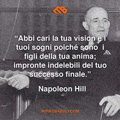 Non è un vero e proprio #tbt ma ci siamo quasi, dai ... #citazioni #napoleonhill #motivazione #pensiero #parolesante #saggio #italianblogger