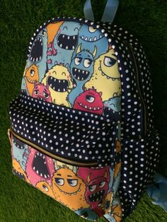 Duondul  Happy Monster Backpack