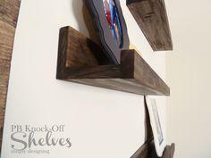 DIY Shelves | how to make knock-off shelves with a Kreg Jig | #diy #shelves #knockoff