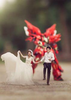Dieser Hochzeitsfotograf verwandelt Bräute und Bräutigame in Mini-Figuren #Braut #Bräutigam #Hochzeit #Heirat #Fotograf #Hochzeitsfotograf