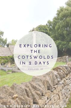 With England staycations becoming the new norm, take this sample Cotswolds itinerary and how to explore villages in The Cotswolds guide. I spent a weekend in The Cotswolds and visited 7 villages, I include a map of The Cotswolds, what to do in The Cotswolds, where to stay in The Cotswolds in a 2 day Cotswolds itinerary. This Cotswolds road trip is unmissable in England and a perfect place to visit in the UK. #VisitEngland #VisitUK #EnglandStaycation #StaycationInUK #Cotswolds #TheCotswolds… Time In Germany, Visit Uk, European Travel, Asia Travel, Visit Amsterdam, Working Holidays, Travel Couple, Staycation, Travel Advice