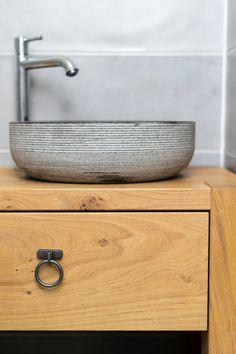 Op maat gemaakt badmeubel door 't Kroonhuys Decor, Double Vanity, Vanity, Home Decor, Bathroom Vanity, Bathroom, Sink