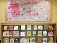 valentine library displays | Click here to search our catalog for Valentine's Day books!