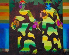 Figures in a Garden, 1979 - 1981 - Eileen Agar Modern Art, Contemporary Art, Eugenia Loli, Tate Gallery, Muse Art, Famous Art, Agar, Art Uk, Art Studies