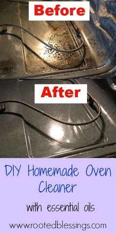 Homemade Oven Cleaner {Detox Your Home Spring Cleaning Series}. Click to read more details. Order your essential oils with ID# 1488788. For more great info on Young Living therapeutic grade Essential Oils, follow my blog at www.oilytreasures.com and join me on Facebook at https://www.facebook.com/OilyTreasures
