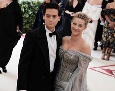 Cole and Lili at the 2018 Met Gala (7 may) #colesprouse