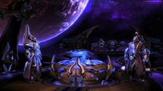 starcraft 2 legacy of the void wallpaper games