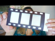 Faça você mesmo/DIY: Convite de aniversário tema CINEMA - YouTube