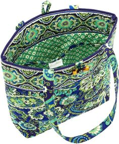Vera Bradley Rhythm & Blues Fabric Tote from Barnes and Noble. Gifts For Cancer Patients, Vera Bradley Tote, Rhythm And Blues, Blue Fabric, School Bags, Purses And Bags, Challenges, My Style, Accessories