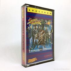 STREET  FIGHTER / ERBE LOMO ROSA / CAPCOM - ESPAÑA 1988 juego completo SINCLAIR ZX SPECTRUM CASSETTE