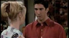 Friends - Ross and Phoebe argue about Evolution, via YouTube.