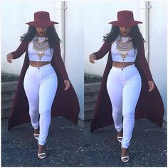 all white outfit with a splash of Classy Outfits, Sexy Outfits, Stylish Outfits, Girl Outfits, Fashion Outfits, Womens Fashion, Fashion Trends, Fashion Updates, Curvy Outfits
