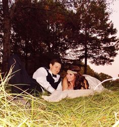 Beautiful married couple! #nightwedding #bridalmakeup #weddingphotography #bridalhair #bohemian #pinkpewter #headband #handsomegroom #weddinghair #weddingmakeup #brideandgroom #beautifulbride #longhair #bridalphotography   #weddinginlove #rusticwedding #weddinginnature #candidweddingphotos #fallwedding