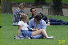 bradley cooper suki waterhouse snuggle in paris park | hope it lasts