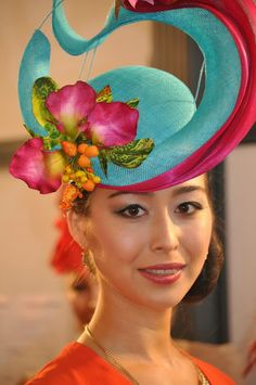 Hats Have It: Fashions on the Field Backstage at the Millinery Award on Oaks Day Part 3