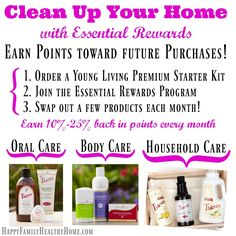 Kick the chemicals with Essential OIls!