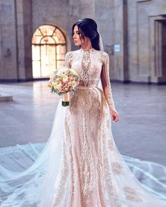 This ornate long sleeve bridal gown can be recreated for you. Our prices are reasonable for custom #weddingdresses. We can also make #replicas of couture designs for less. Get pricing on #inspired designs and custom #dresses when you email us. DariusCordell.com