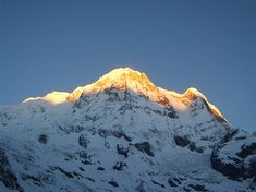 Sunrise on Annapurna